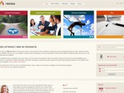 Website Menea, homepage